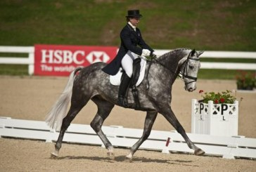CCI**** Rolex Kentucky: Mary King prima e seconda dopo il cross