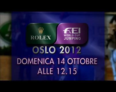 Rolex Fei World Cup Oslo: Moneta 3°, Chiaudani 9°
