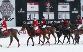 Il Cortina Winter Polo – Audi Gold Cup debutta a Fiames