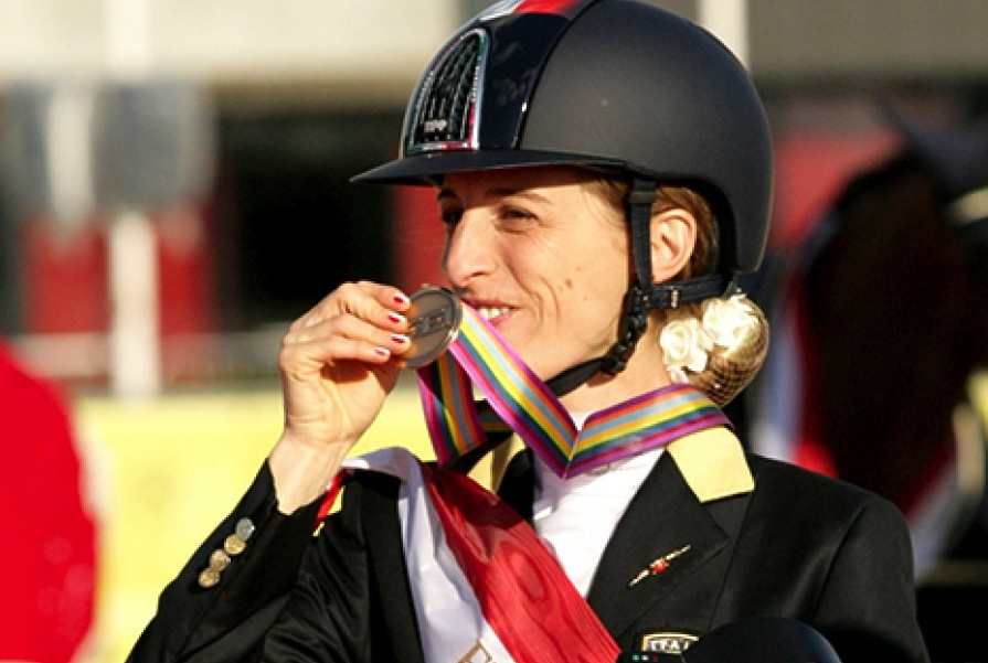 Europei Herning Para-Dressage, Morganti conquista il bronzo