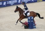 Scott Brash e Hello Sanctos invincibili al Longines Global Champions Tour di Londra