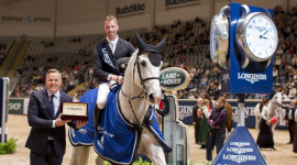 Longines Fei World Cup Oslo, vince Jur Vrieling