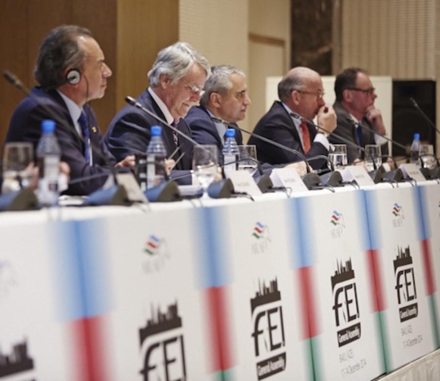 I candidati alla presidenza FEI si presentano