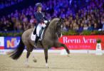 Charlotte Dujardin è imbattibile nella Reem Acra Fei World Cup di Amsterdam