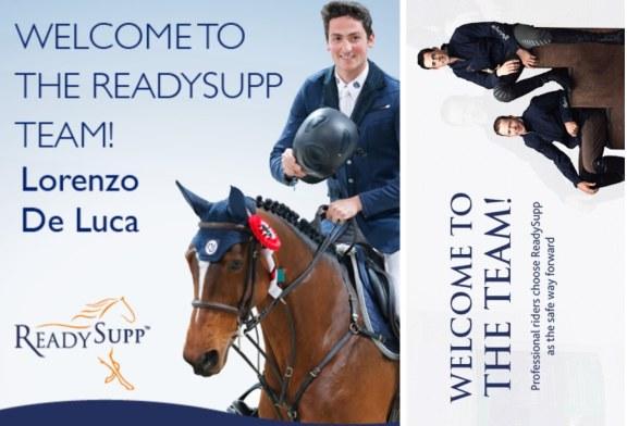 ReadySupp festeggia l'ingresso di Lorenzo De Luca nel suo team