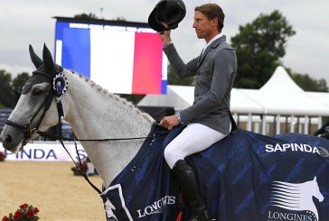 Kevin Staut wins a class at the GCT in London, Emanuele Bianchi takes second place