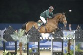 Global Champions Tour Doha, Emanuele Gaudiano wins a class