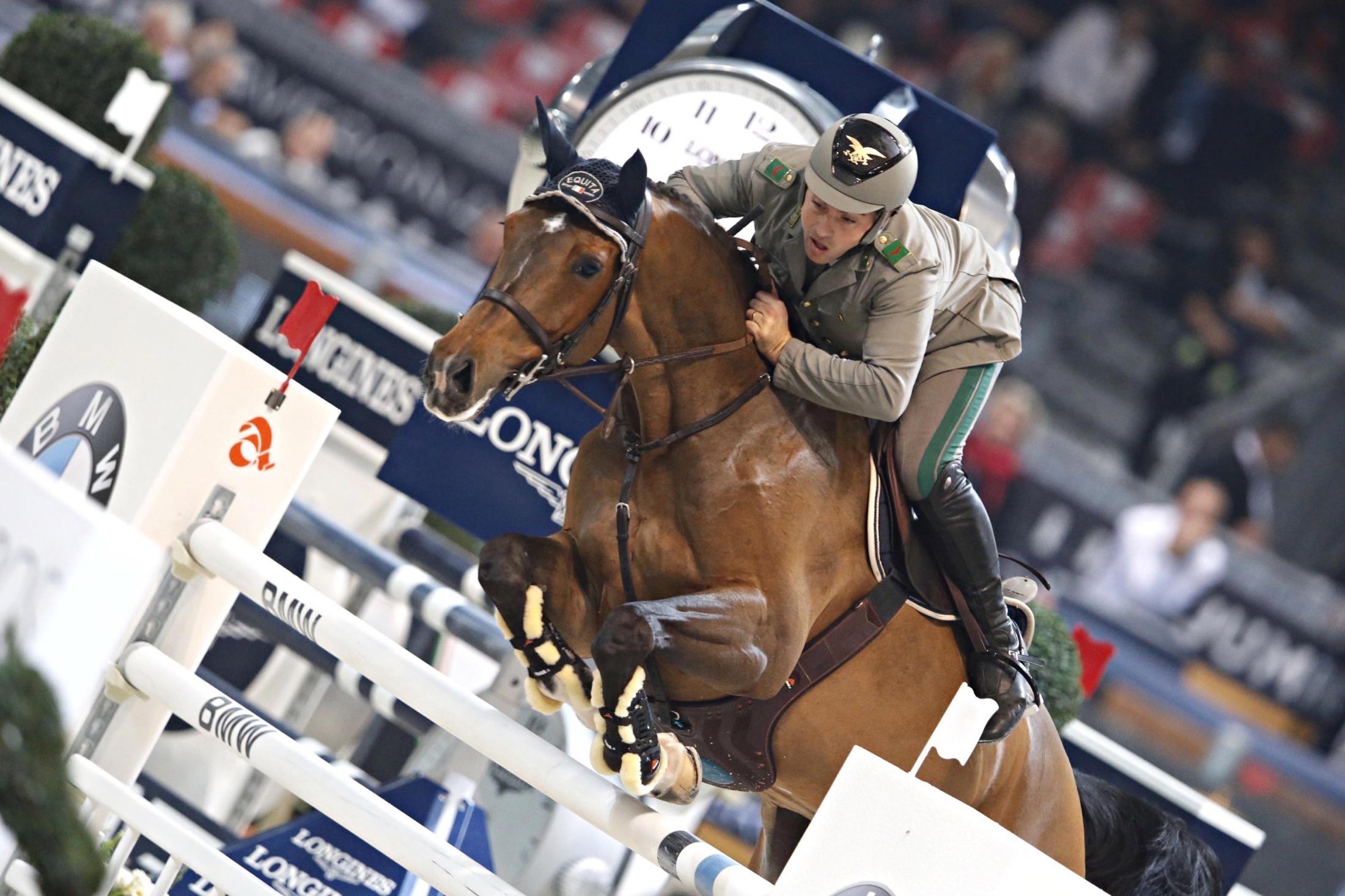 Due vittorie azzurre all'Equestrian Liverpool International