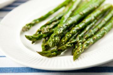 Asparagus, Parmesan and Balsamic vinegar