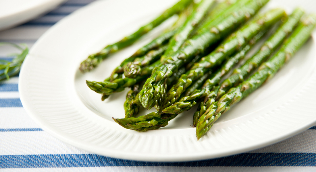 Asparagus, Parmesan and Balsamic vinegar