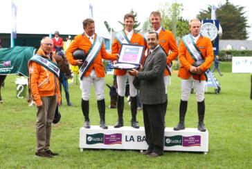 L'Olanda regna sovrana in Coppa delle Nazioni allo Csio di La Baule