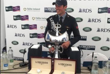 Lorenzo De Luca, Dublin's superstar, vince anche il Gran Premio all'Horse Show