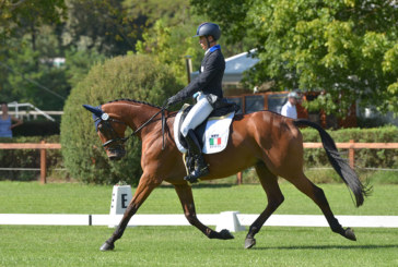 FEI European Eventing Championship for young riders and juniors 2016: Ouverture tedesca