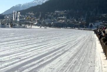 Incidente grave durante la corsa sul lago di St.Moritz