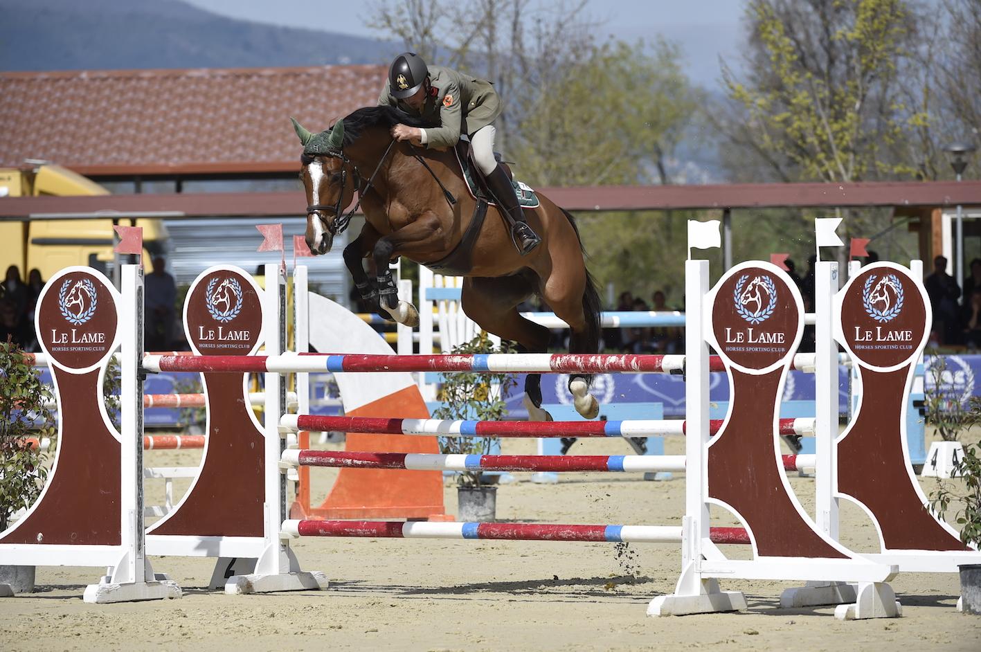 Horses Le Lame, il protagonista è Filippo Martini di Cigala