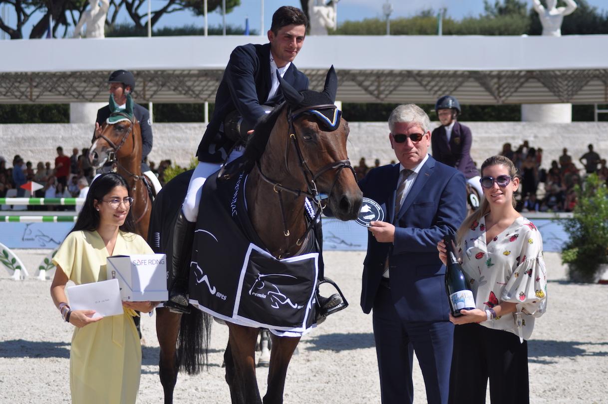 Longines Global Champions Tour, Valente firma la terza vittoria azzurra 2 stelle