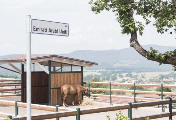 Magione è il primo comune italiano a intitolare una via 'Emirati Arabi Uniti' ed una piazza 'Dubai'