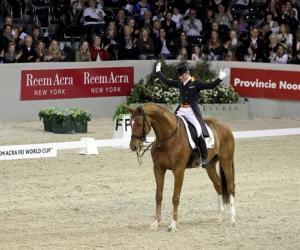 Reem Acra Dressage World Cup s'Hertogenbosch: Adelinde e Parzival sono i migliori