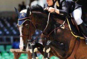 Piazza di Siena: per Francesca Arioldi l'equitazione è un affare di famiglia