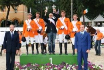 Piazza di Siena: l'Olanda conquista la Coppa delle Nazioni