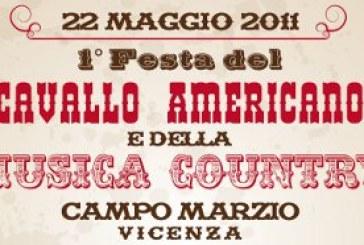 Cavallo Americano e Musica Country: prima festa al Campo Marzio di Vicenza