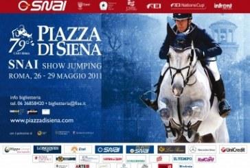 Piazza di Siena: domani si inizia