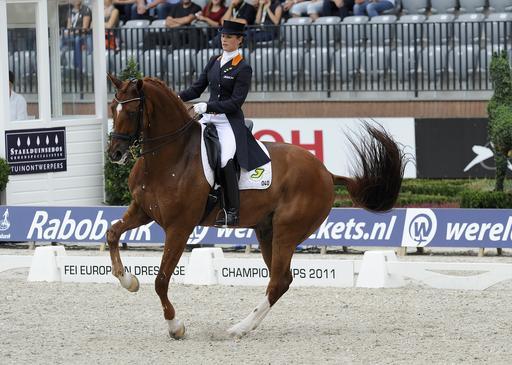 Campionati Europei Dressage Rotterdam: secondo oro per la Cornelissen