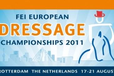 Campionati Europei Dressage Rotterdam: Ester Soldi e Harmonia 61.292%
