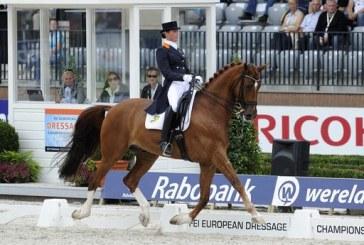 Campionati Europei Dressage Rotterdam: Cornelissen e Jerich Parzival festeggiano l'oro
