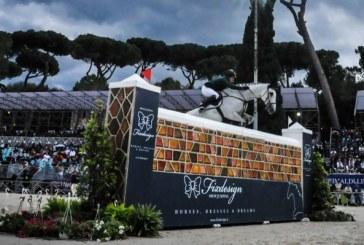 Csio Piazza di Siena: Sweetnam cade ma vince la potenza