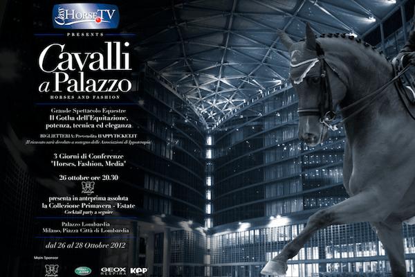 Cavalli a Palazzo dal 26 al 28 Ottobre, Palazzo della Regione Lombardia