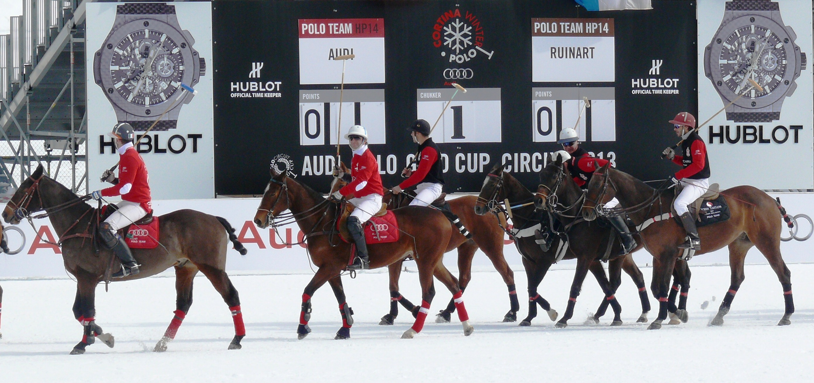 Il Cortina Winter Polo – Audi Gold Cup debutta a Fiames