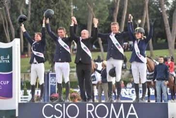 Csio Roma Piazza di Siena, la Furusiyya Fei Nations Cup va all'Ucraina