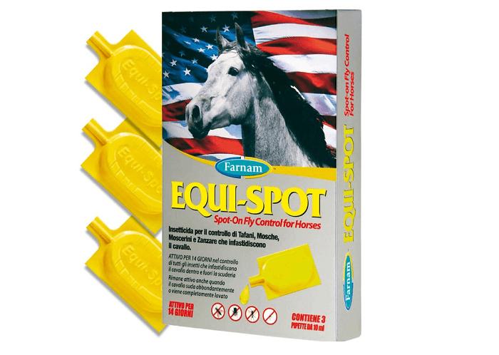 Il primo insetticida Spot-On per cavalli disponibile anche in Italia