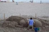 Cavallo di sabbia, foto del giorno