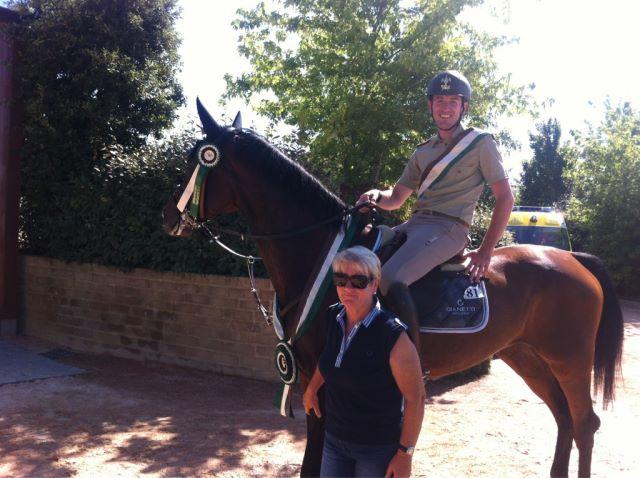 Horses Riviera Resort, Roberto Cristofoletti si aggiudica il Gran Premio in sella a Cortina