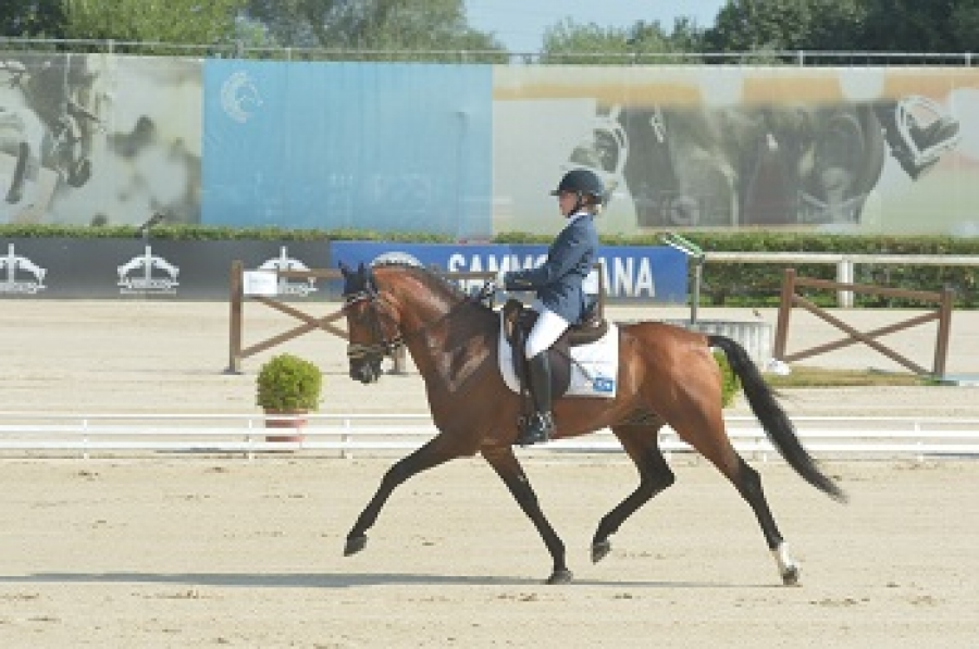 Campanella al nono posto individuale provvisorio ai Campionati Europei Pony