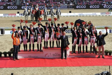 Europei Dressage Herning, Truppa in finale