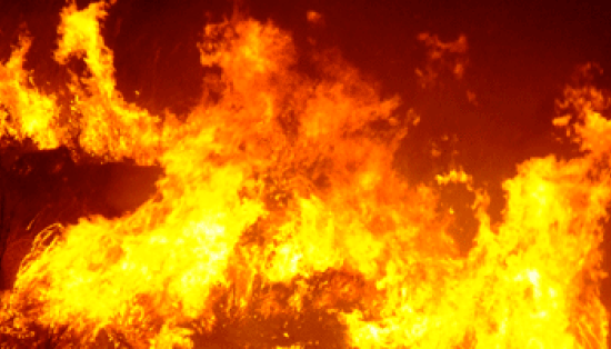 Incendio distrugge la stazione di monta Bachl