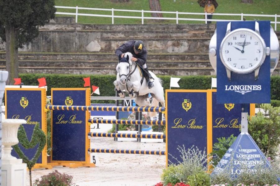 Csio Piazza di Siena,  podio azzurro anche per la prima gara della seconda giornata