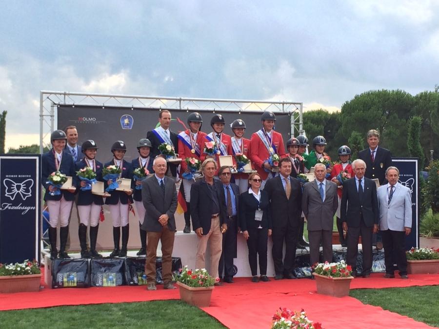 Bronzo per l'Italia young riders ai Campionati Europei