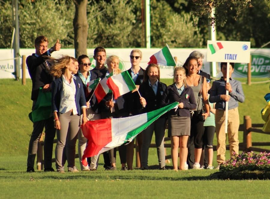 Europei di dressage ad Arezzo, cerimonia d'apertura