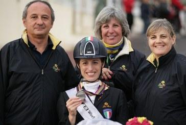 Sara Morganti è la nuova leader della ranking mondiale