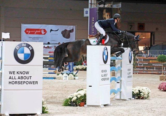 Neils Bruynseels conquista il Premio BMW a Jumping Verona