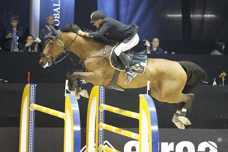 Jumping Parma, ancora l'Inno di Mameli