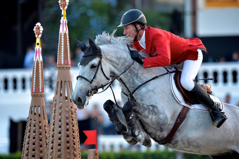 Zinedine sostituisce Chiara alla finale del Global Champions Tour di Doha
