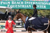 Jessica Springsteen victorious at WEF 2015