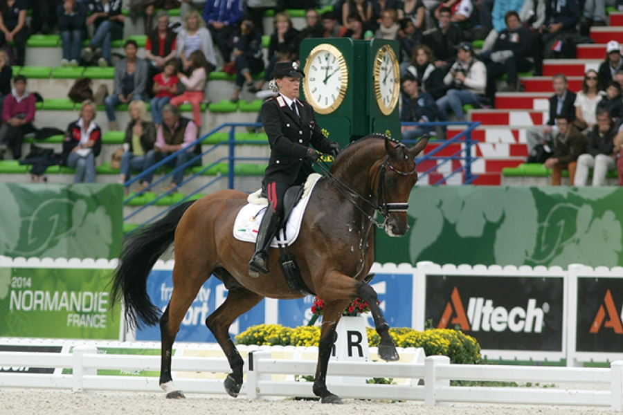 """A Valentina Truppa il """"FEI Gold Badge of Honour"""""""