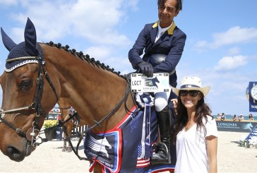 Carlos Lopez wins the first class at the Longines Global Champions Tour in Miami