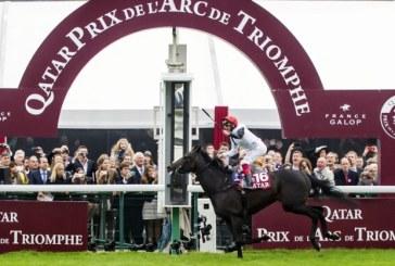 Frankie Dettori di nuovo al top con la vittoria dell'Arc de Triomphe